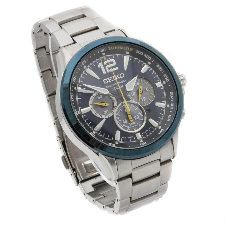 Seiko Jimmie Johnson Special Edition Solar Chronograph Wristwatch