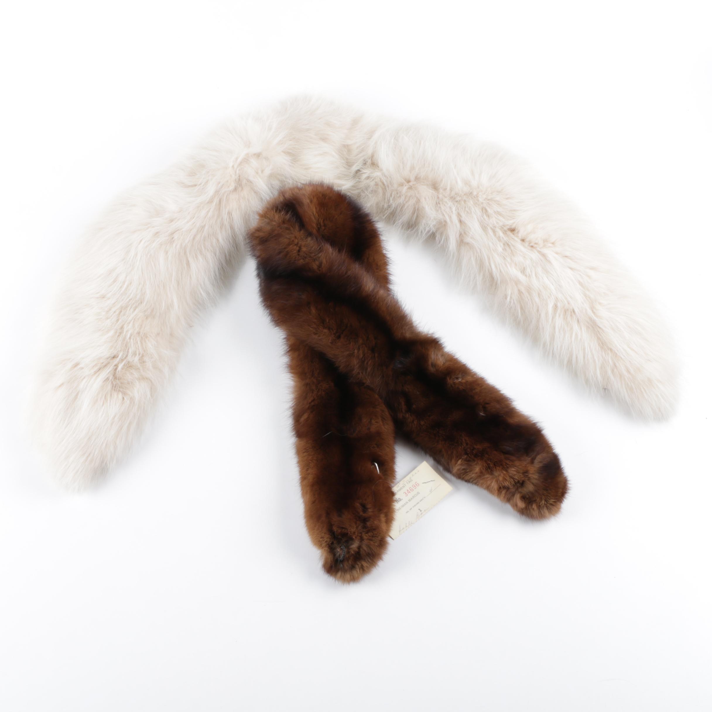 Marten and Fox Fur Collars