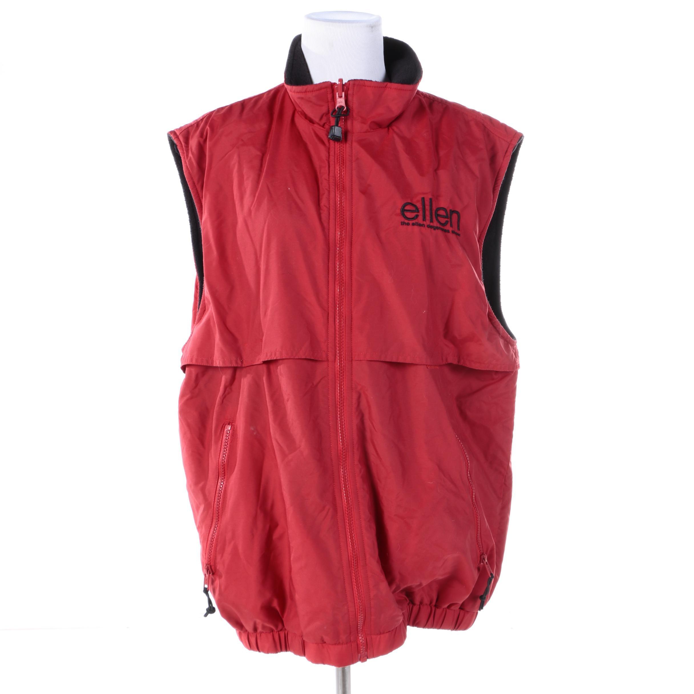 """Women's """"Ellen Degeneres Show"""" Reversible Vest"""