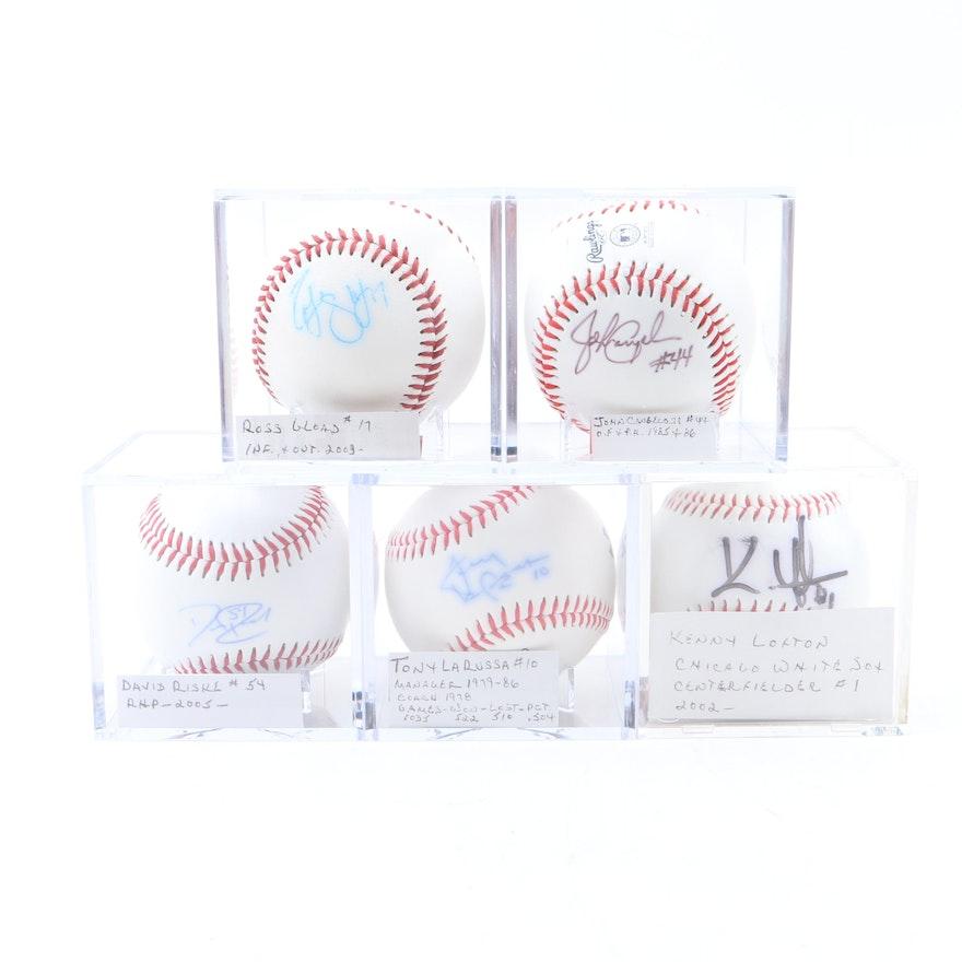 cc1e0f18c7c Autographed Baseballs including John Cangelosi and Kenny Lofton   EBTH