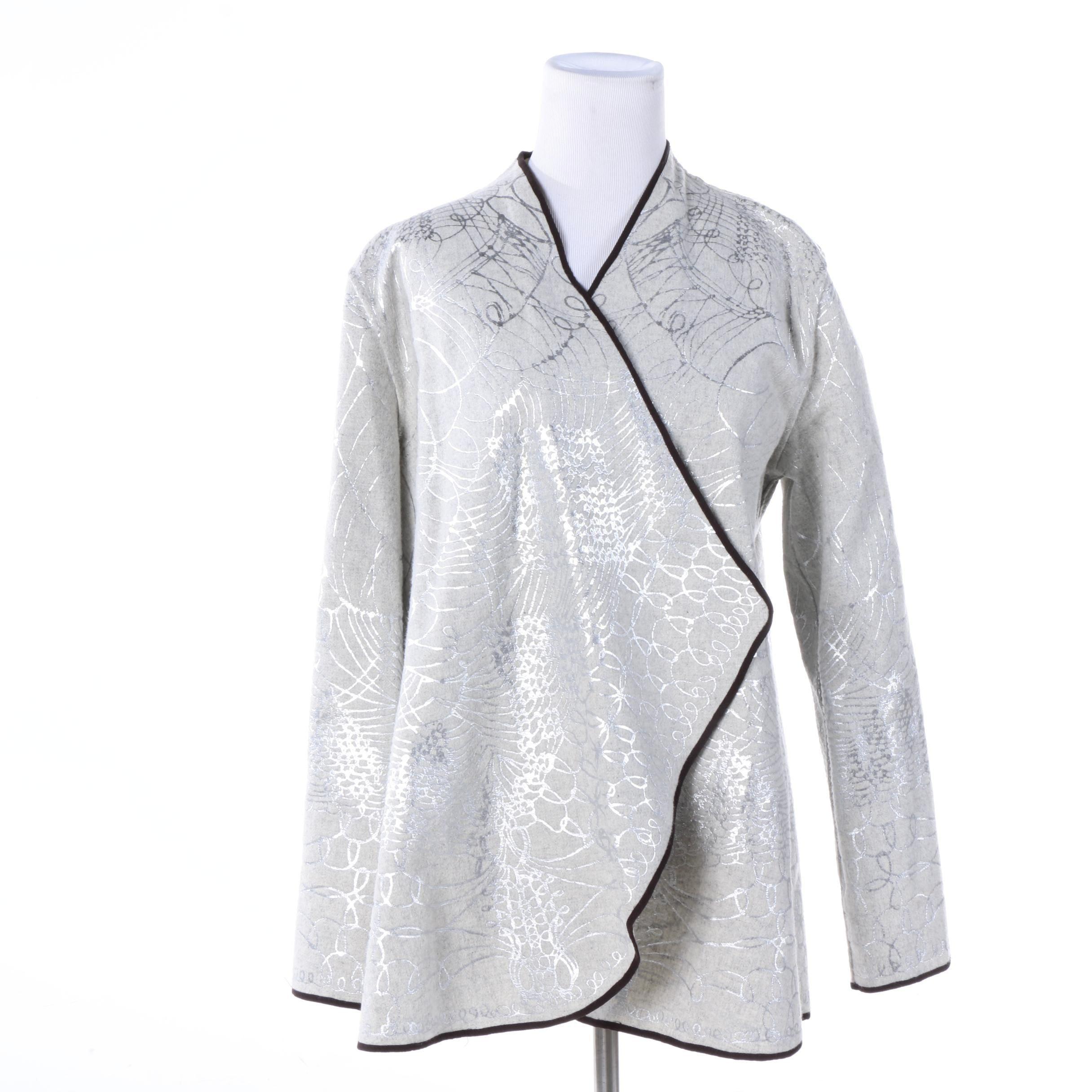 Women's Draped Handmade Jacket