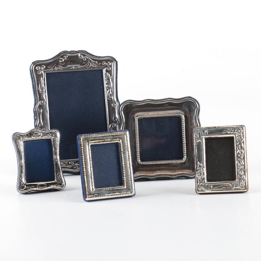 Carrs of Sheffield Ltd. and Italian Sterling Silver Picture Frames ...