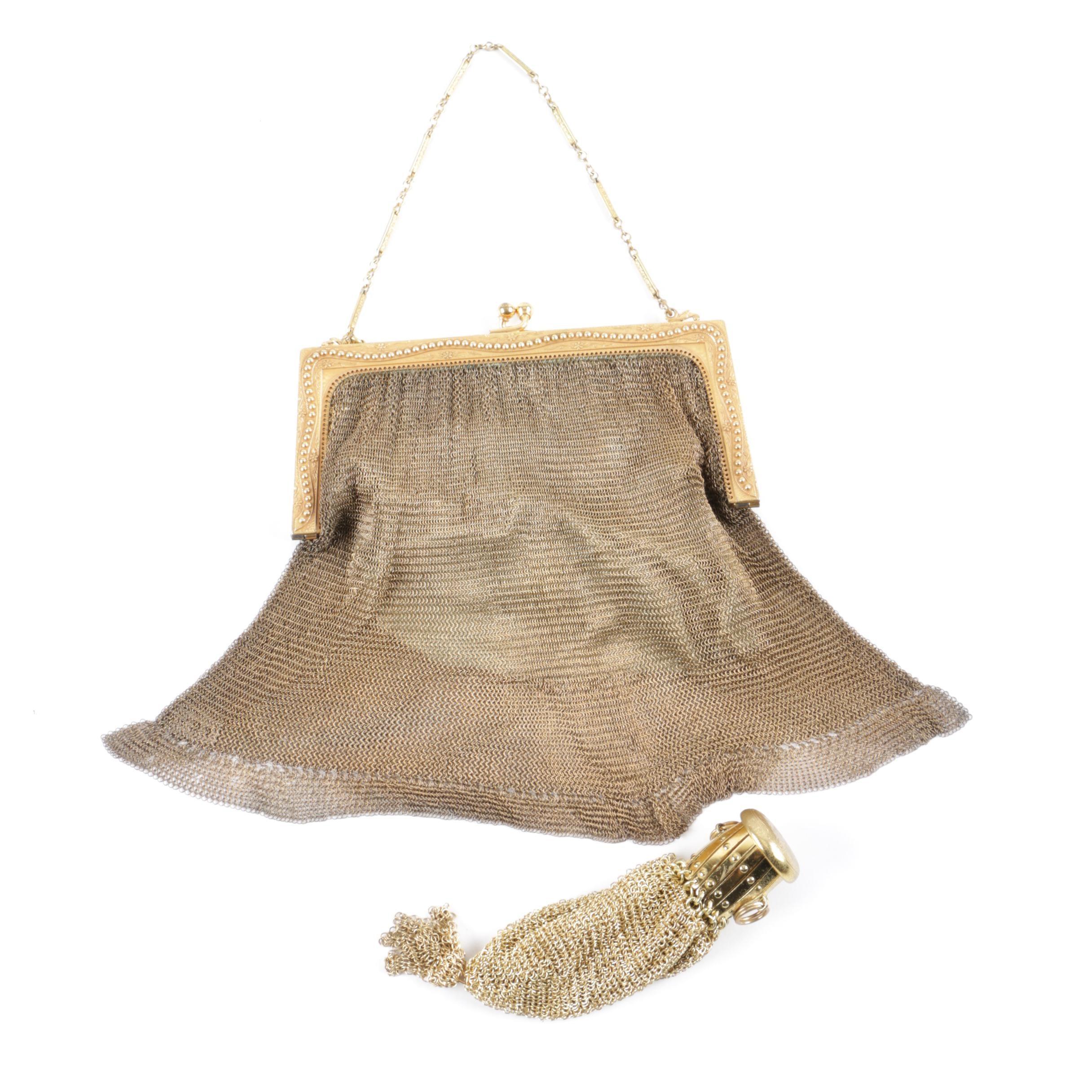 Vintage Mesh Handbags Including Whiting U0026 Davis