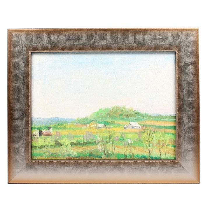 James DeVore Landscape Oil Painting