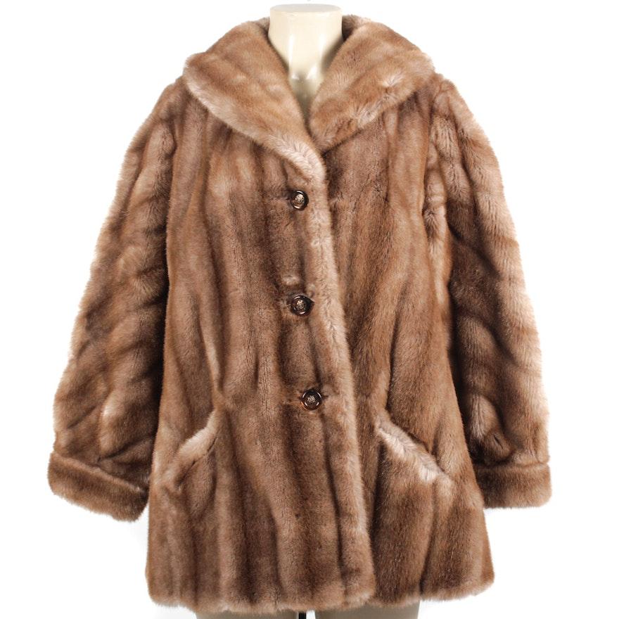 488445dce1dc Vintage Russel Taylor Faux Fur Jacket   EBTH