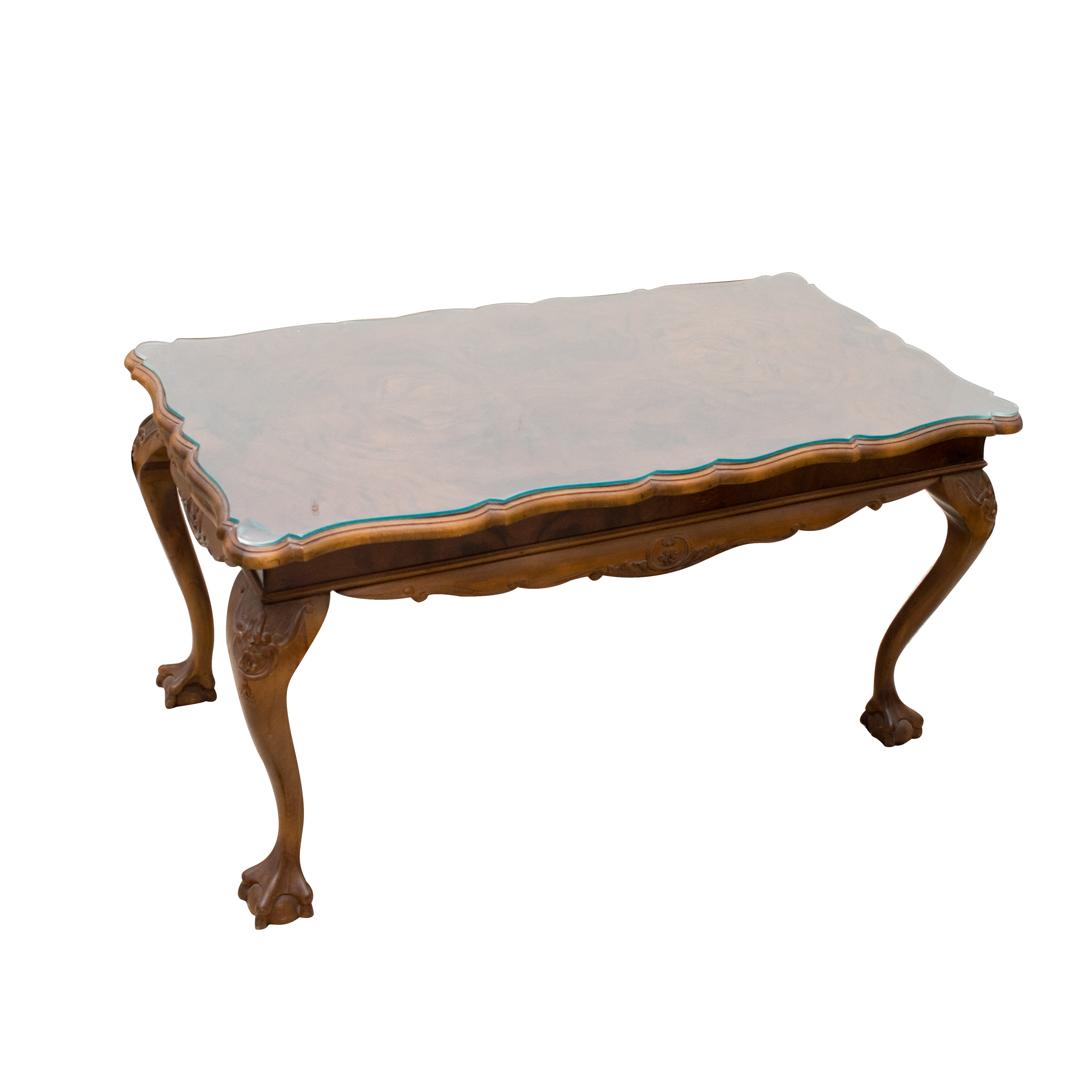 Dutch Baroque Style Coffee Table With Extensions ...