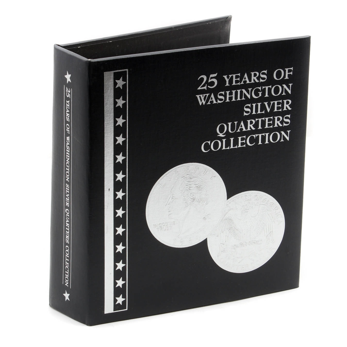 """""""25 Years of Washington Silver Quarters Collection"""" by The Morgan Mint"""