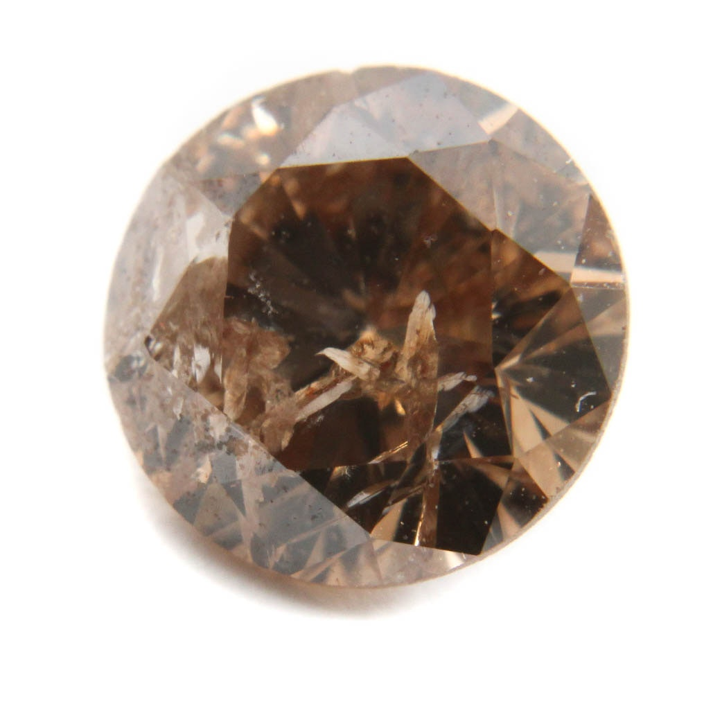Loose 0.61 Carat Champagne Diamond