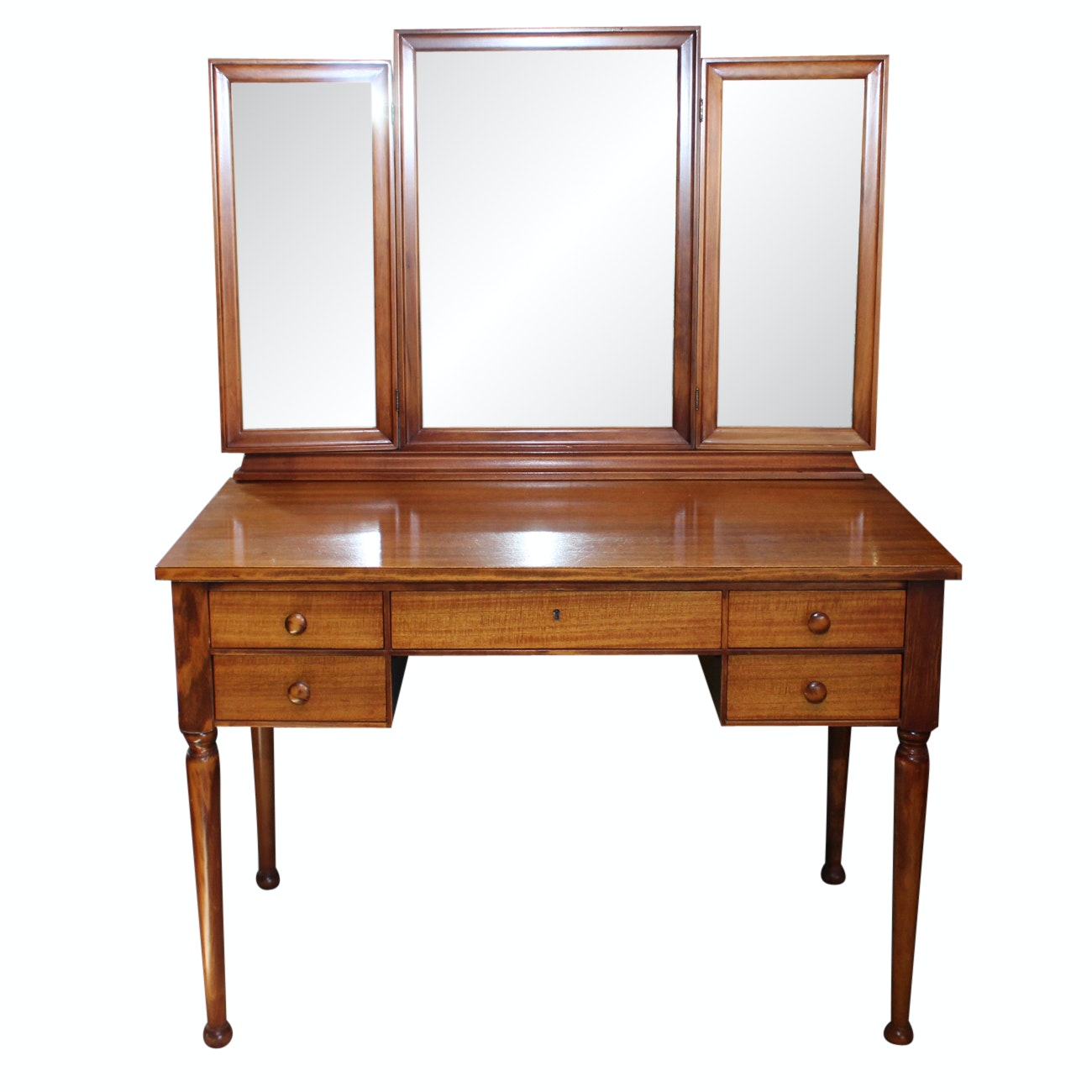 Superior Vanity Table With Mirror By Robert Mitchell Furniture Company ...