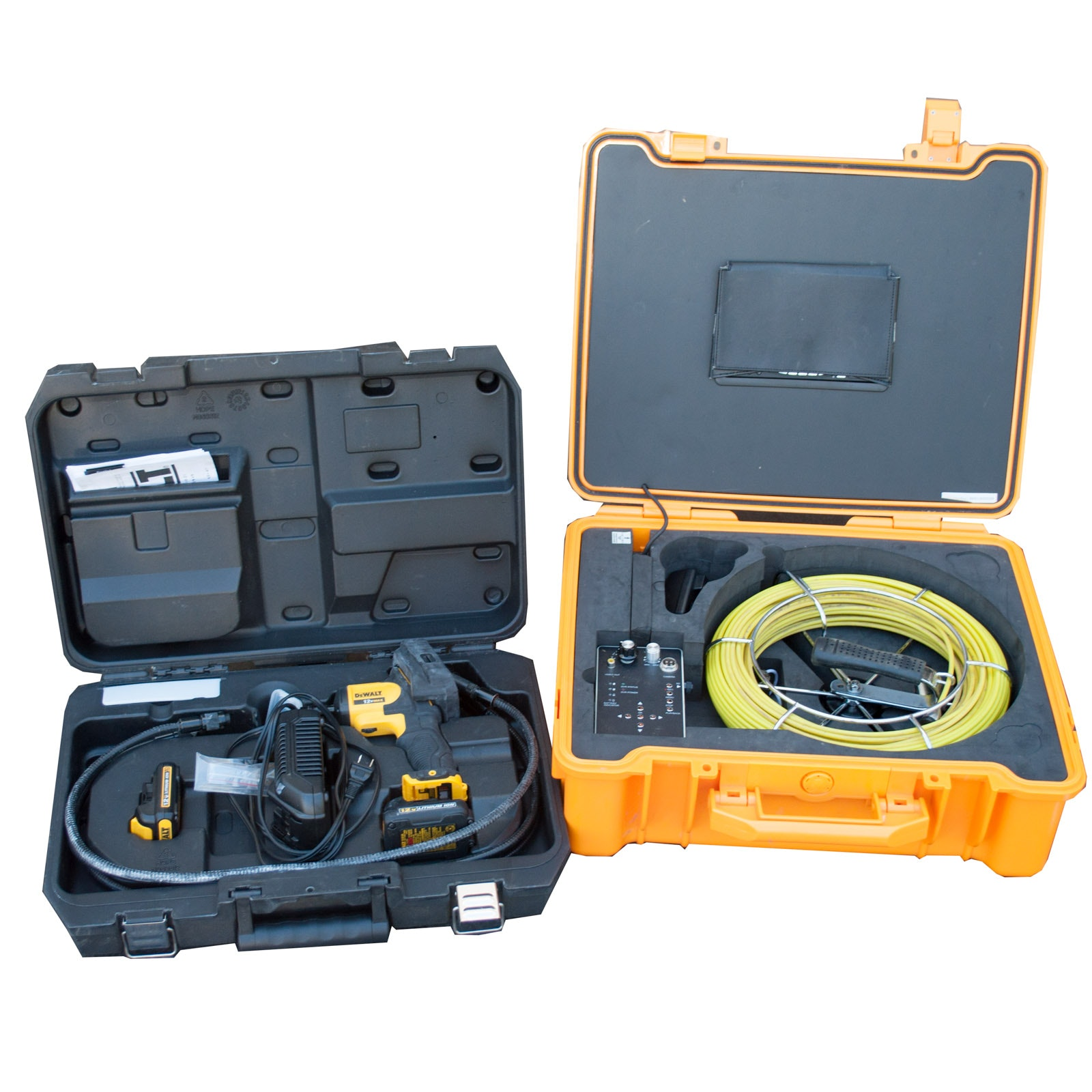 USA Borescopes Sewer Pipe Inspection Camera with DeWalt DCT 41051