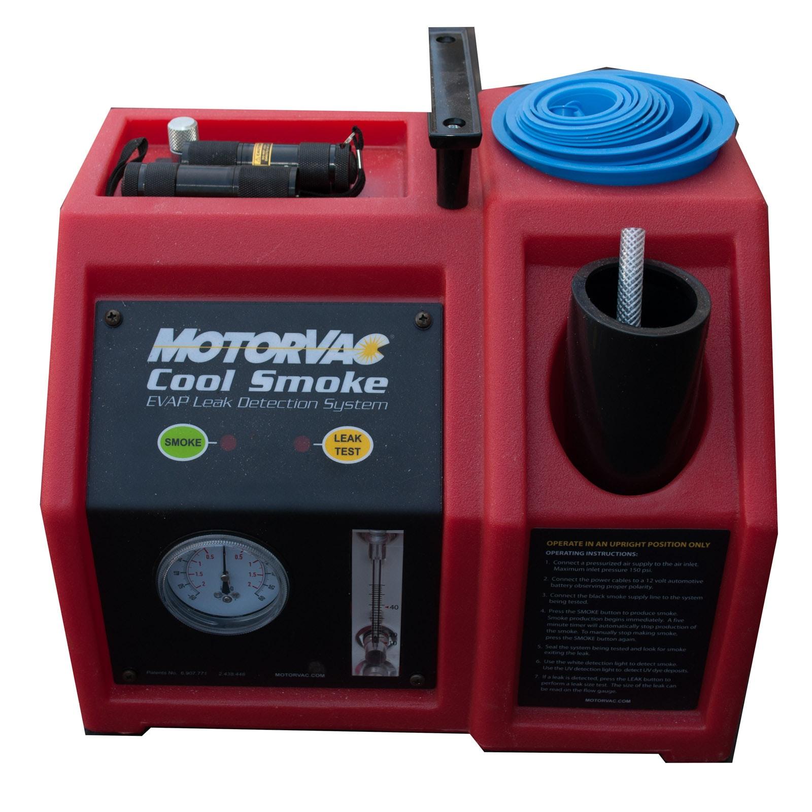 MotorVAC Cool Smoke Generator EVAP Leak Detection System