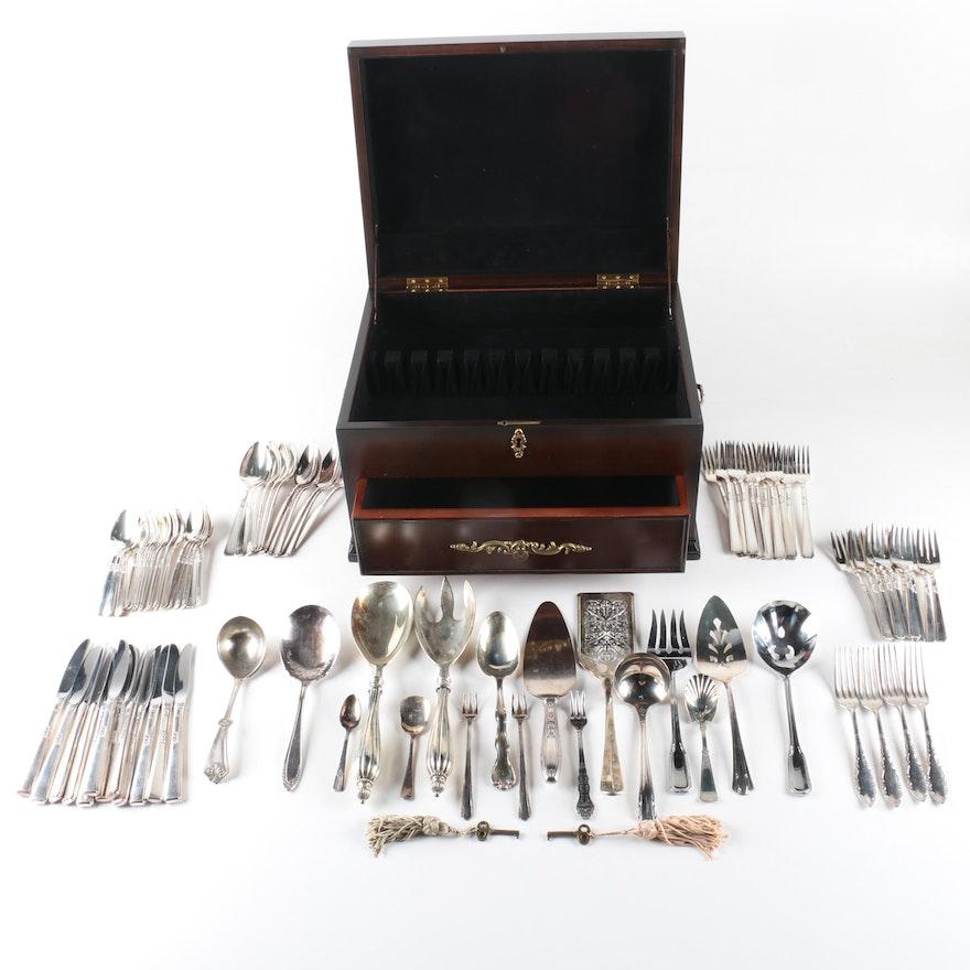 wm rogers sterling silver flatware