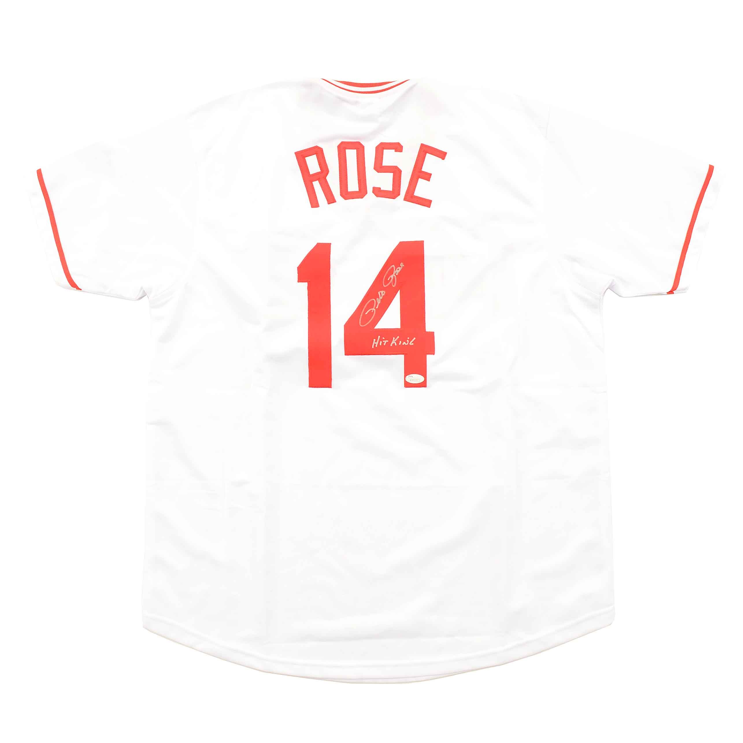 Pete Rose Signed Jersey  COA