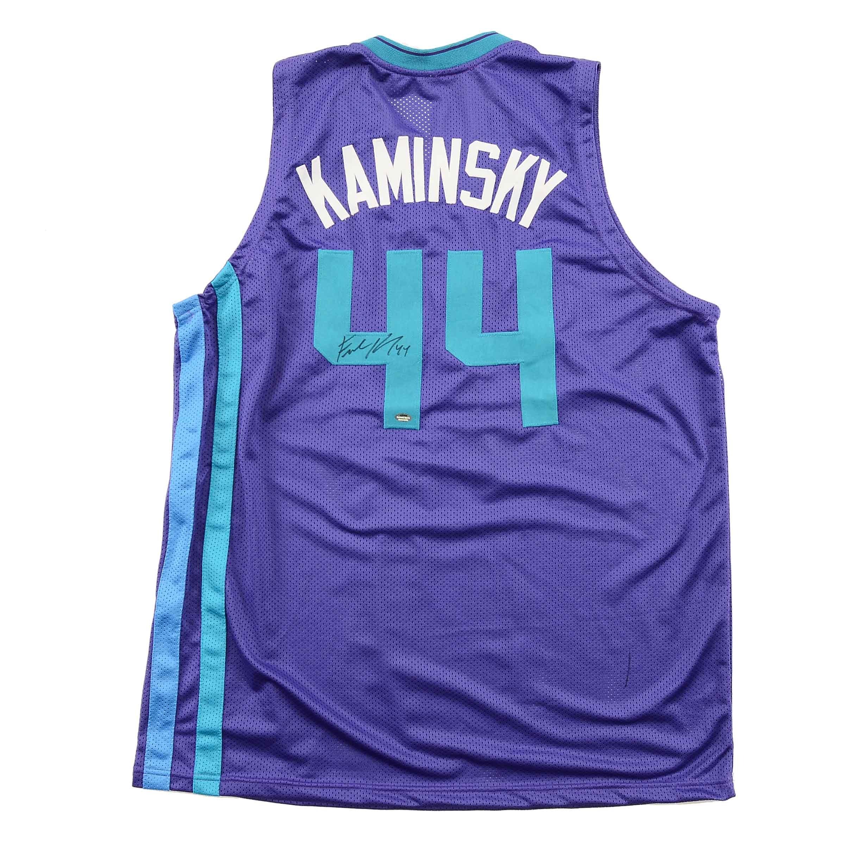 Frank Kaminsky Signed Charlotte Hornets NBA Jersey