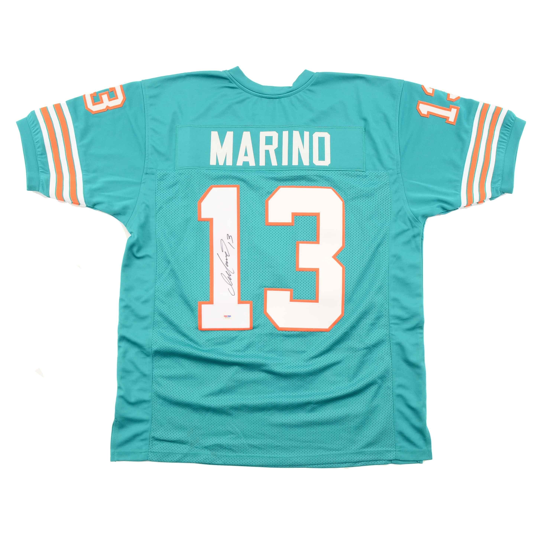 Dan Marino Signed Dolphins Jersey  COA