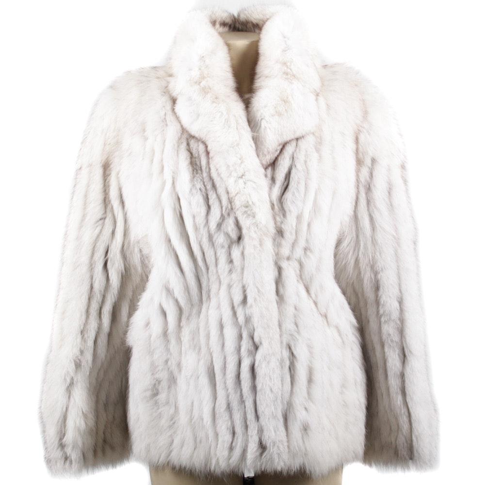 Saga Fox Fur Jacket