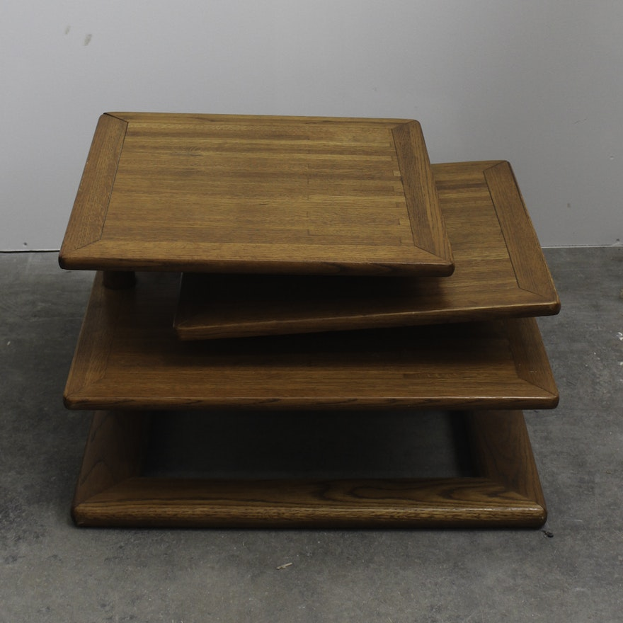 Modern Swivel Coffee Table.Mid Century Modern Swivel Coffee Table