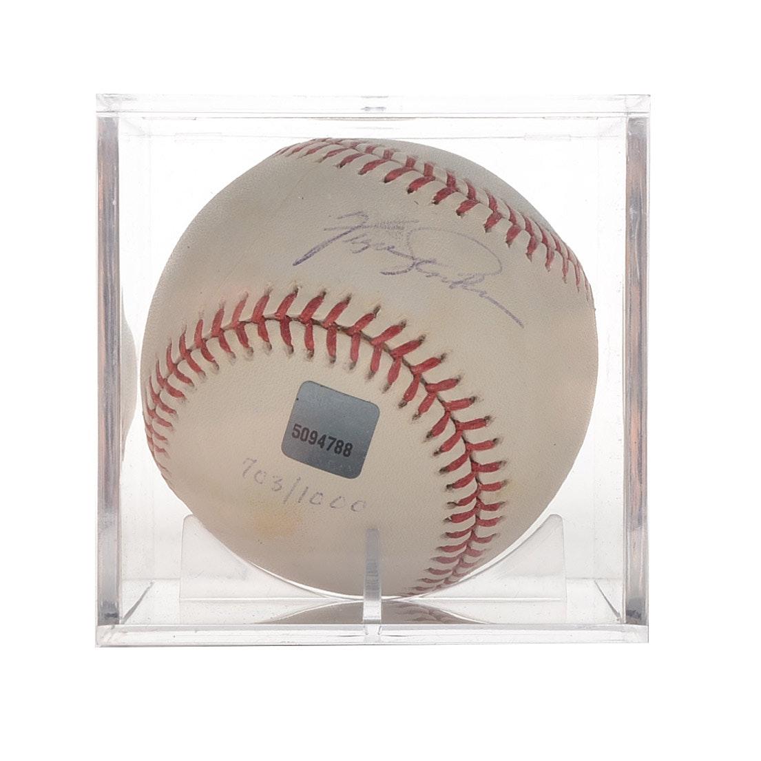 Ferguson Jenkins Signed Baseball  Topps Sealed  COA