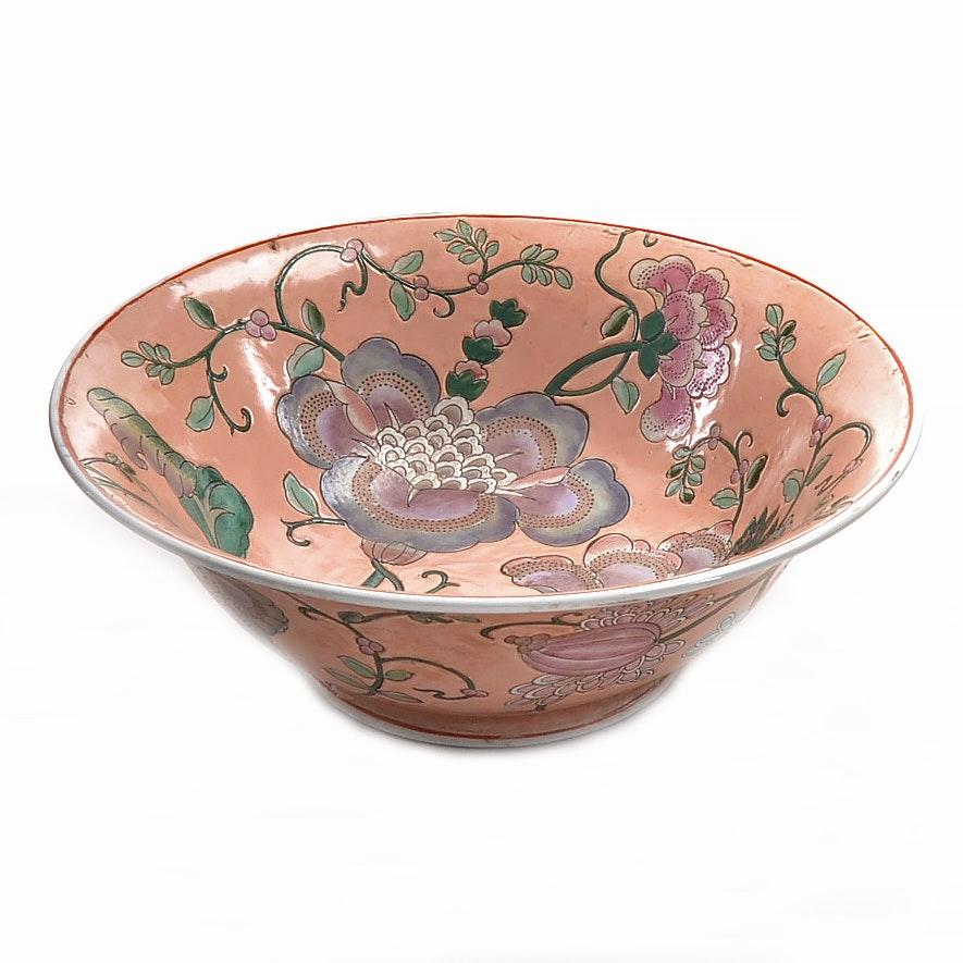 Hand-Painted Chinese Ceramic Bowl