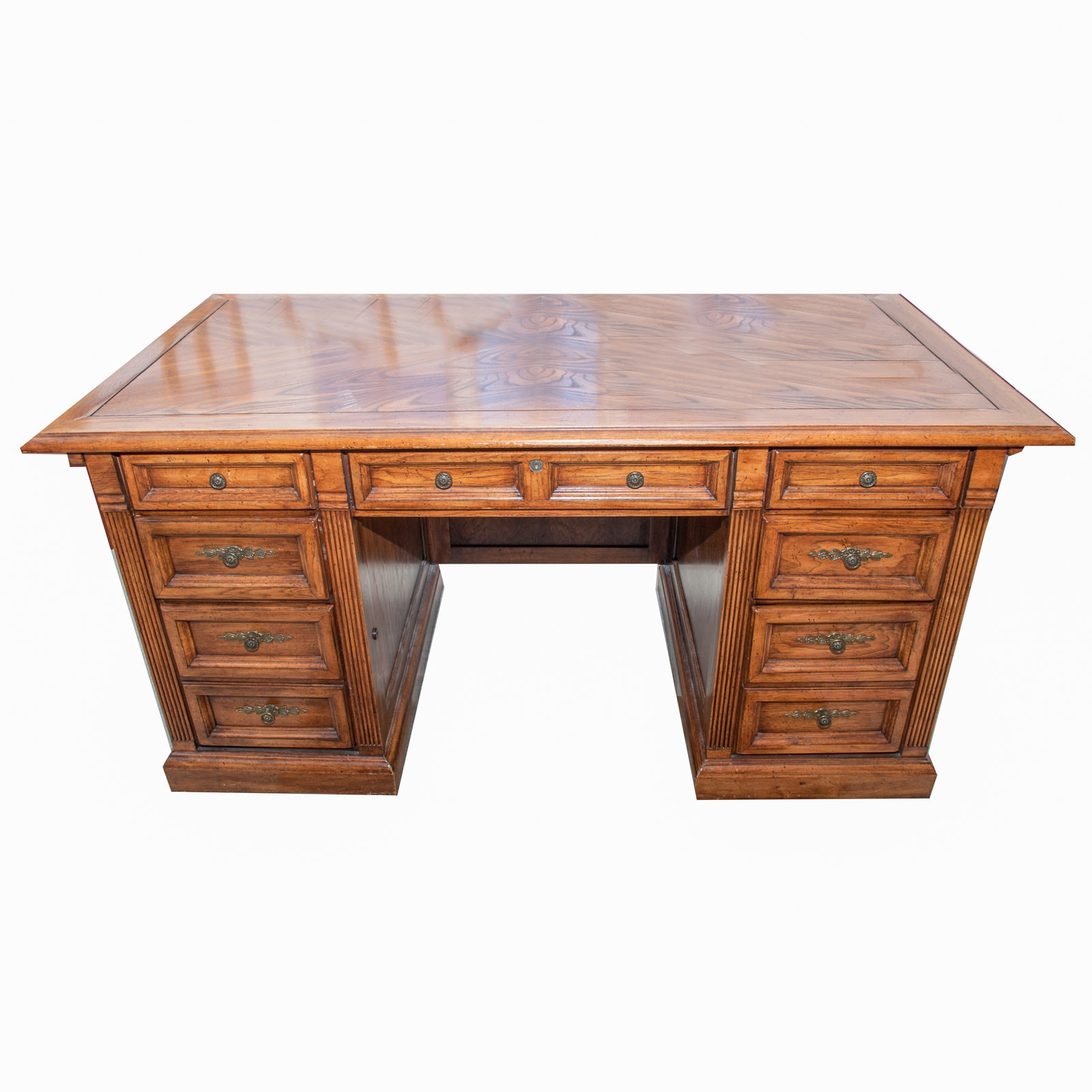 Riverside Furniture Wood Executive Desk