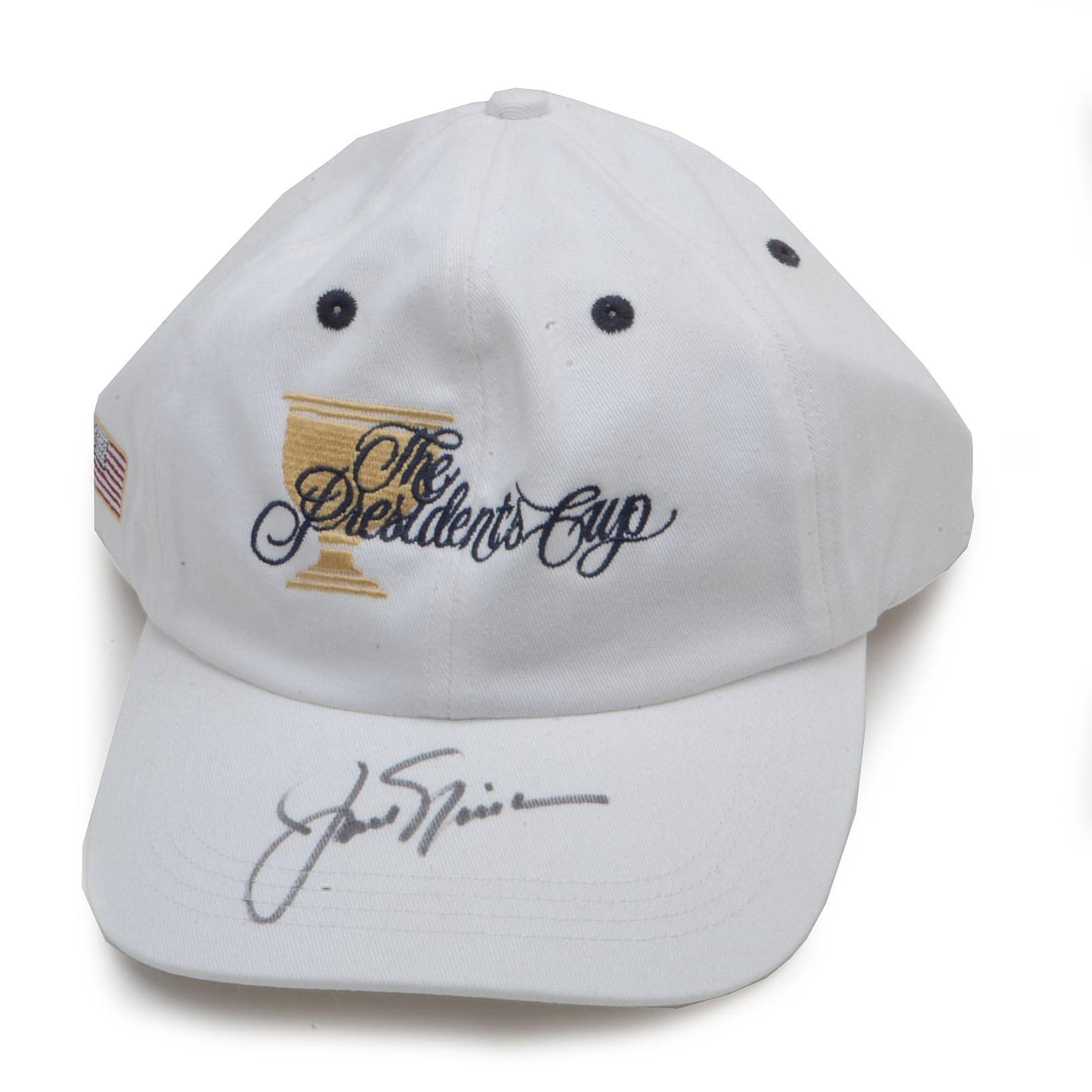 Jack Nicklaus Signed Golf Hat  COA