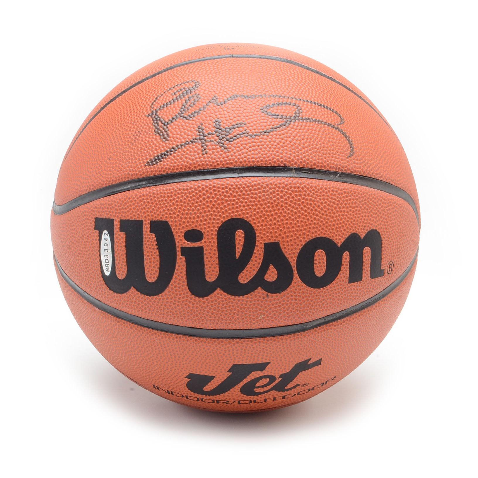 Penny Hardaway Signed Basketball  COA
