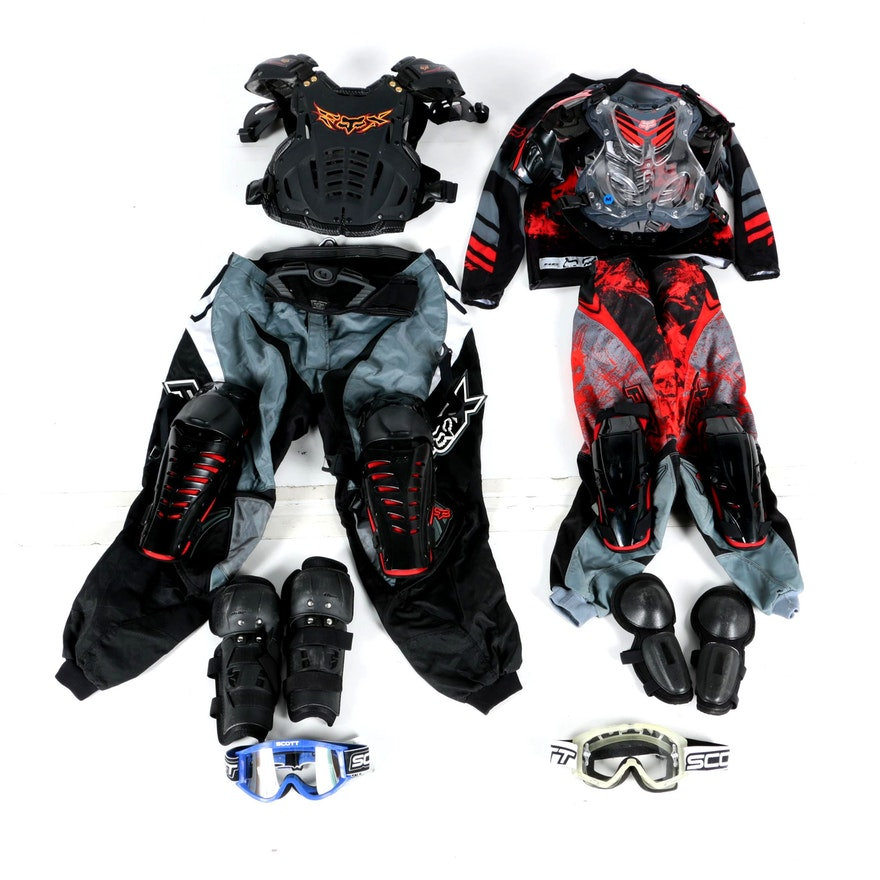 c921476f76 Men's and Children's Fox Racing, Thor and Scott Apparel and Gear : EBTH