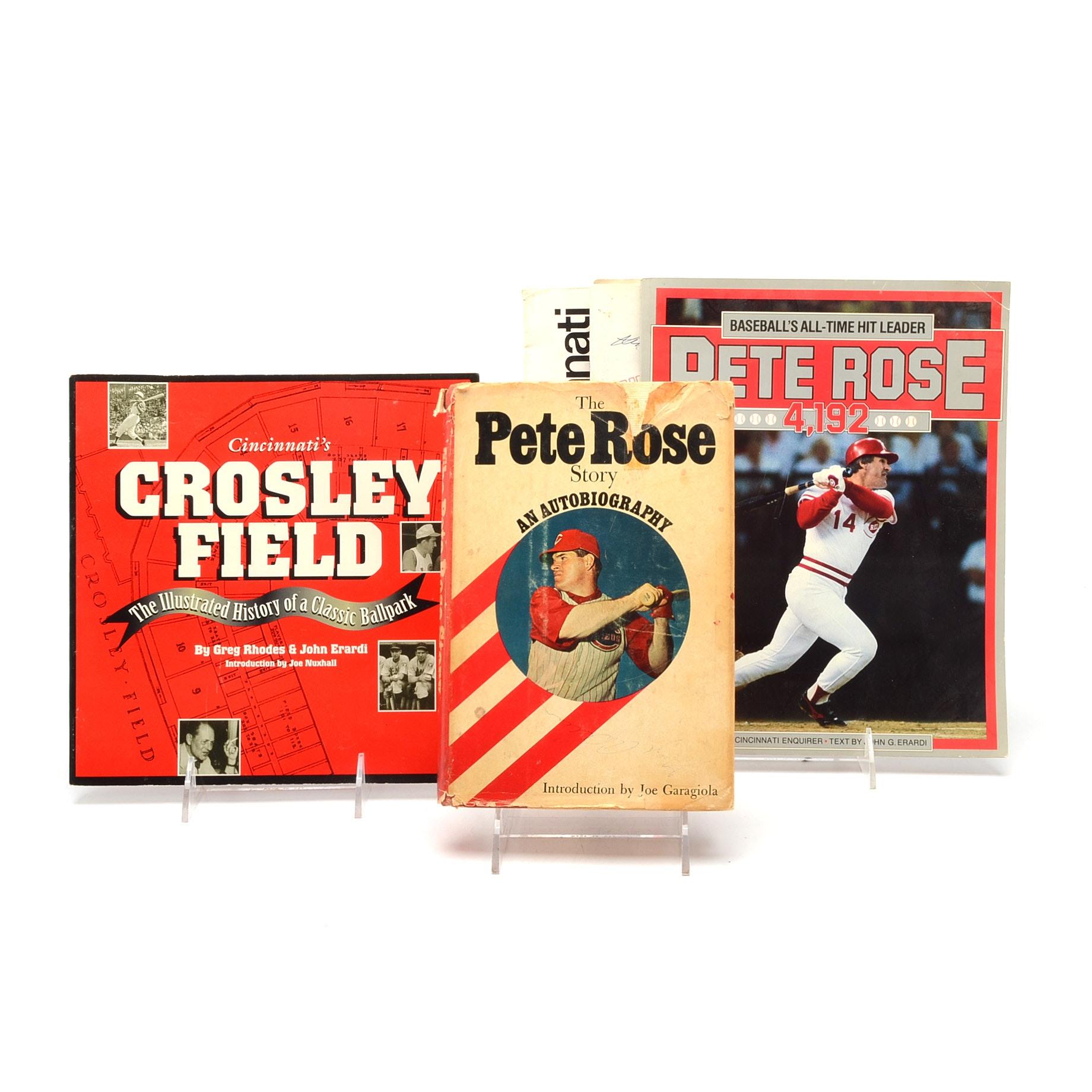 Cincinnati Reds Signed Publications