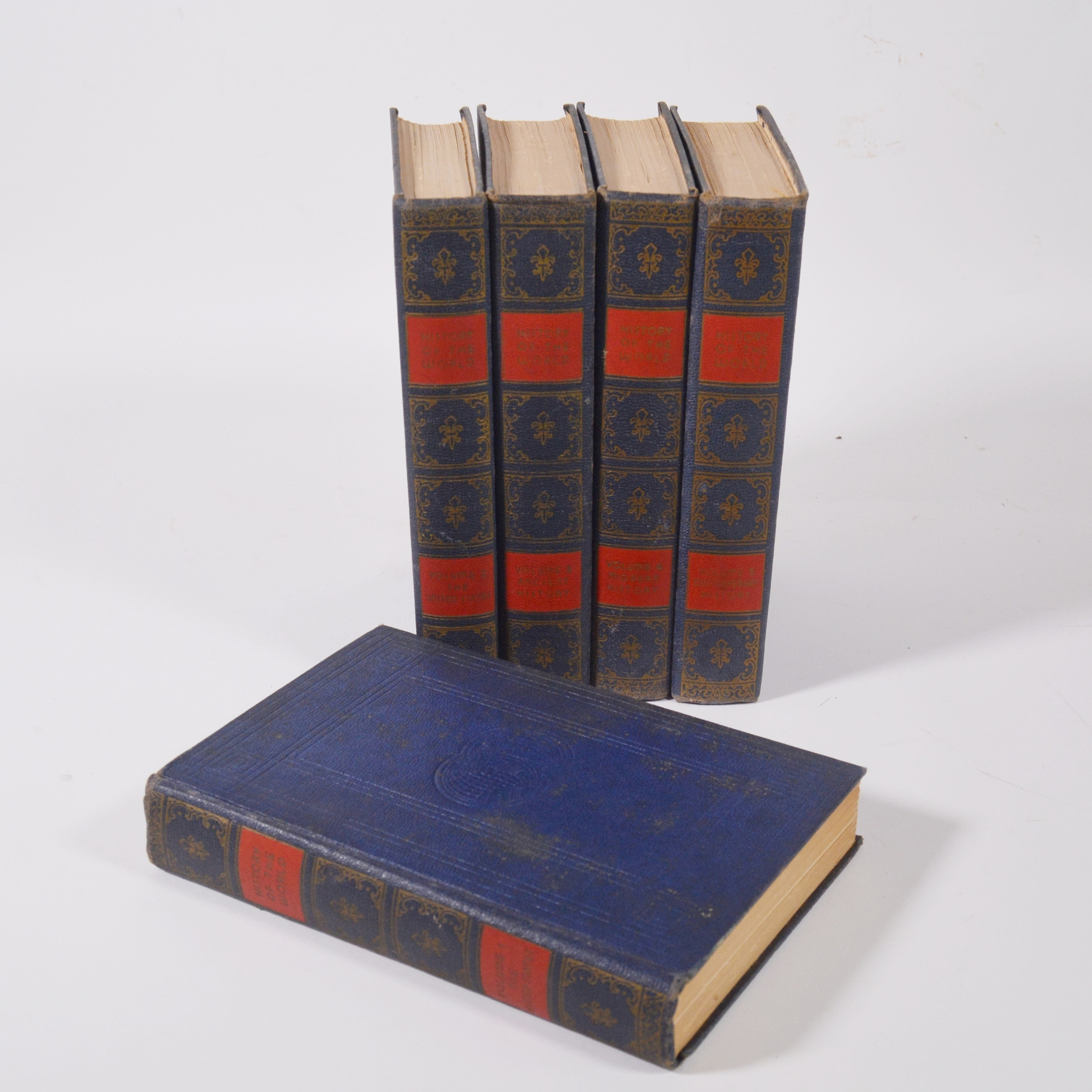 """History of the World"" Hardcover Book Set"