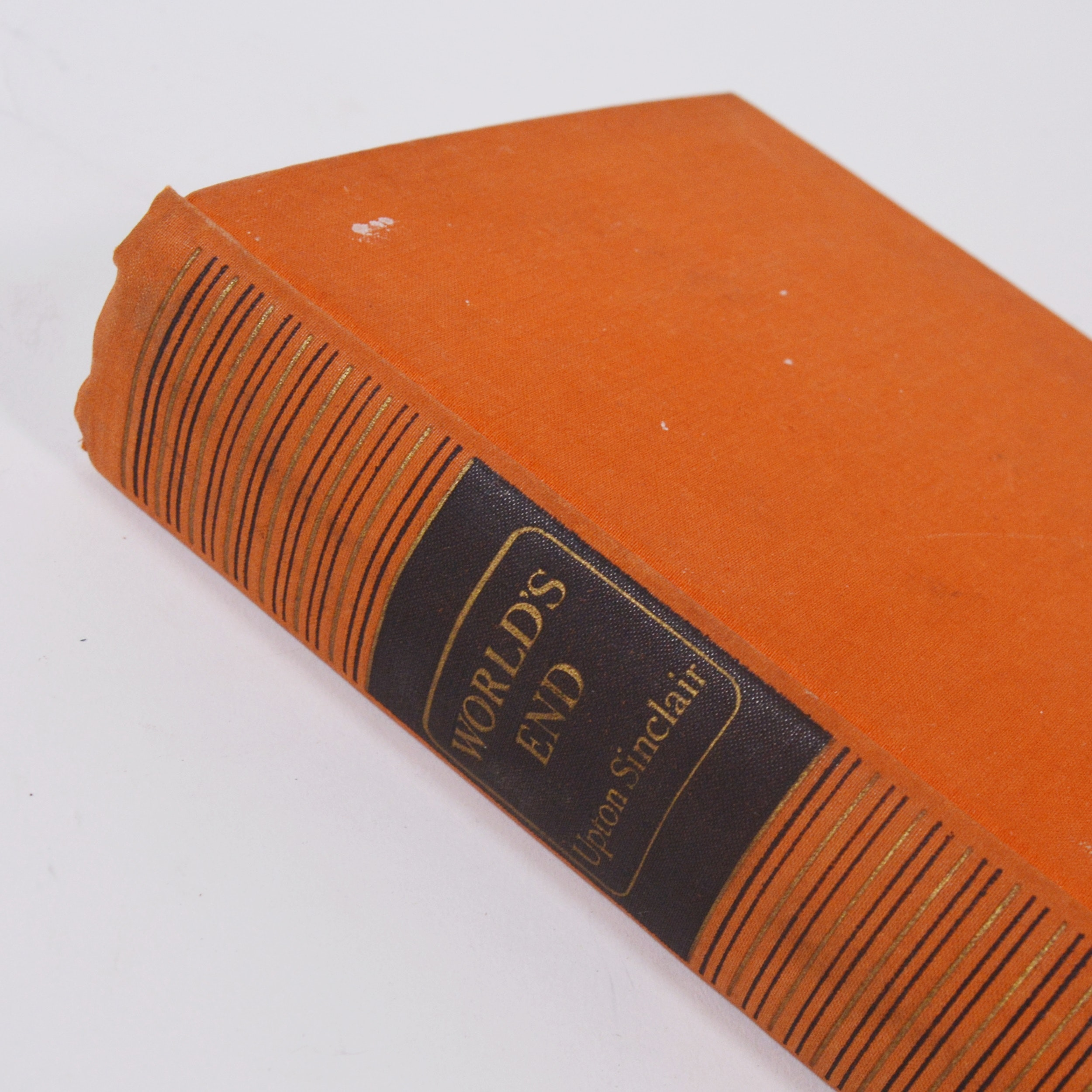 "Upton Sinclair ""World's End"" Hardcover Book"