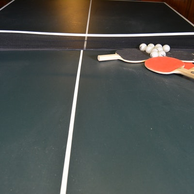 Harvard Folding Ping Pong Table And Accessories