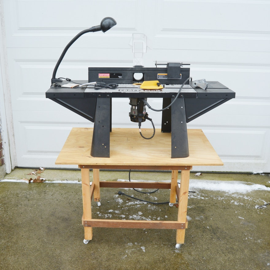 Craftsman router table with porter and cable router ebth craftsman router table with porter and cable router keyboard keysfo Images