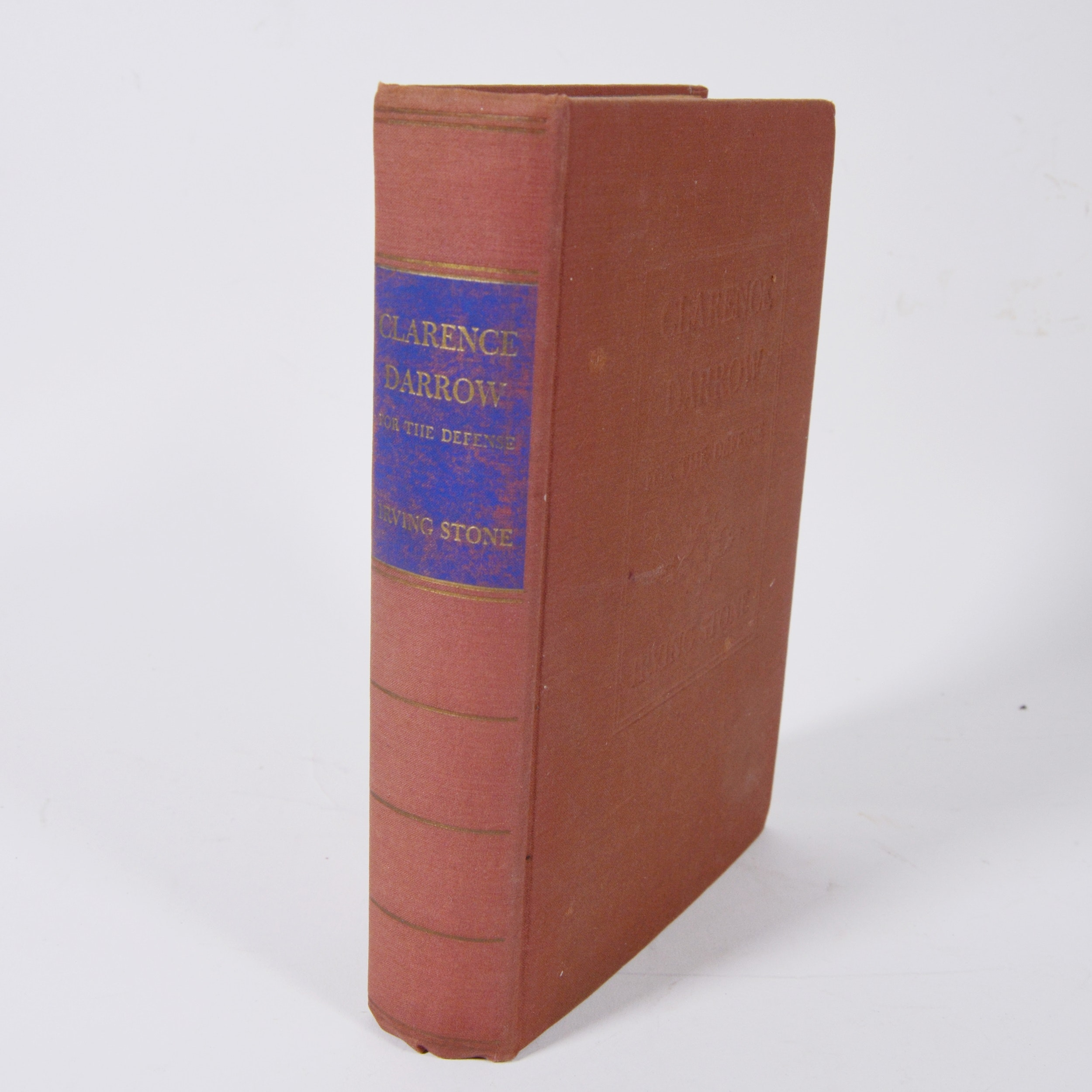 "Irving Stone ""Clarence Darrow For the Defense"" Hardcover Book"