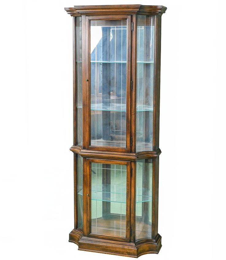 Delicieux Vintage Curio Cabinet ...
