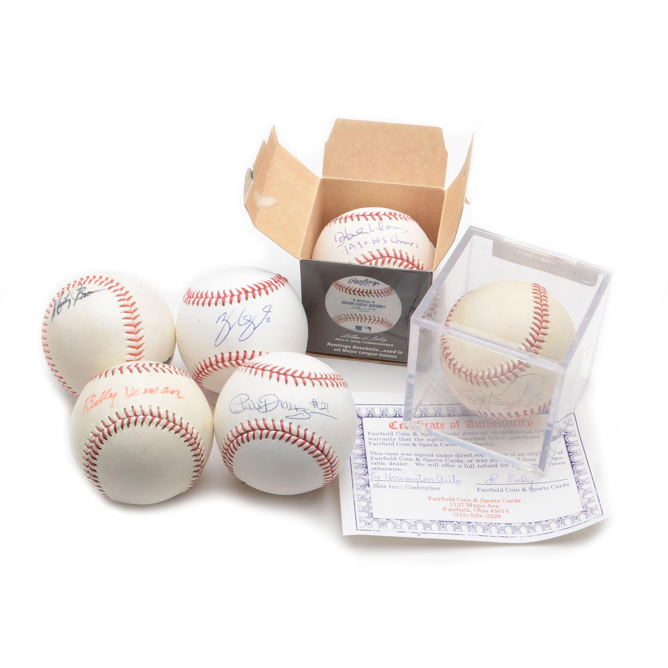 Cincinnati Reds-Related Signed Baseballs