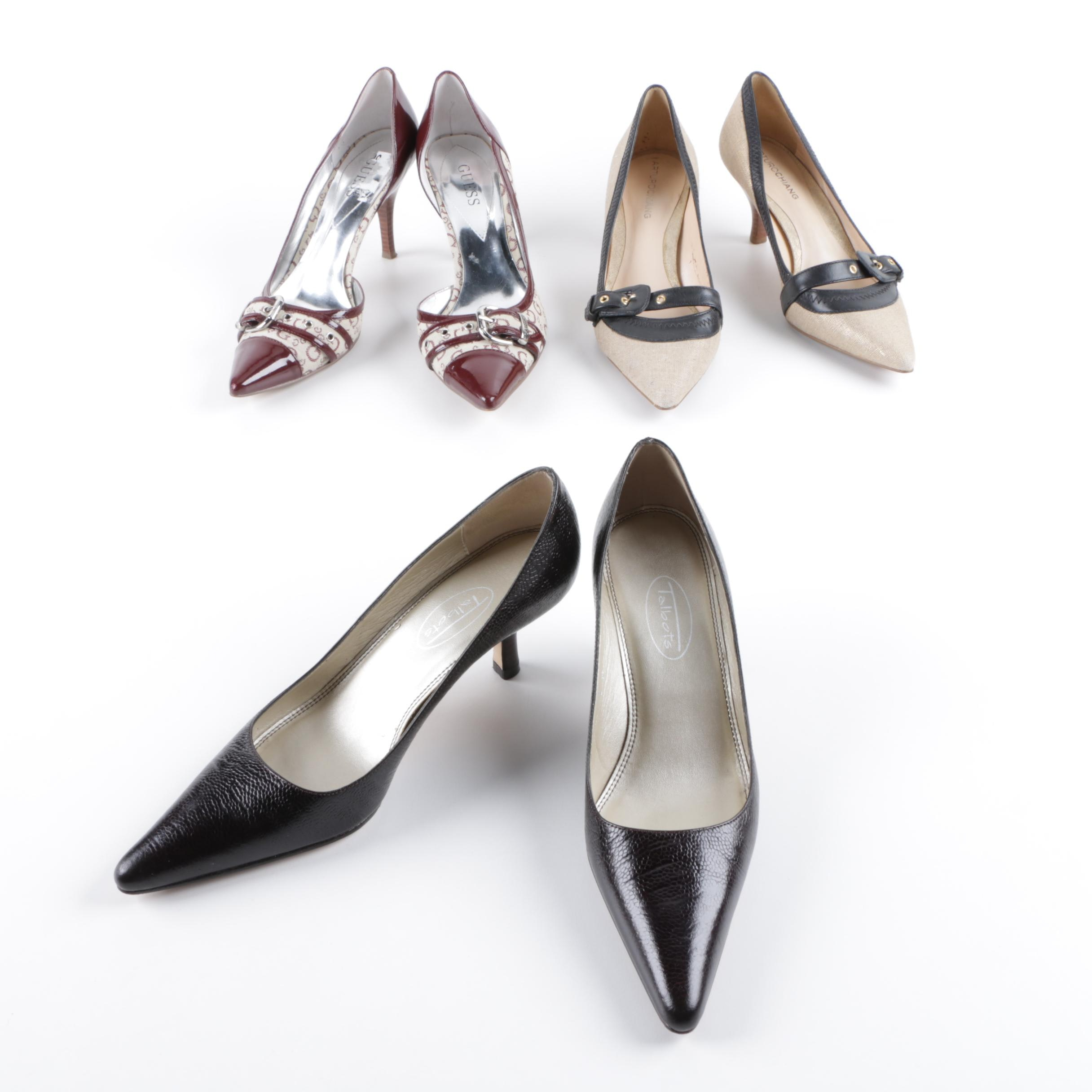 Pointy Toe High Heel Pumps Including Guess