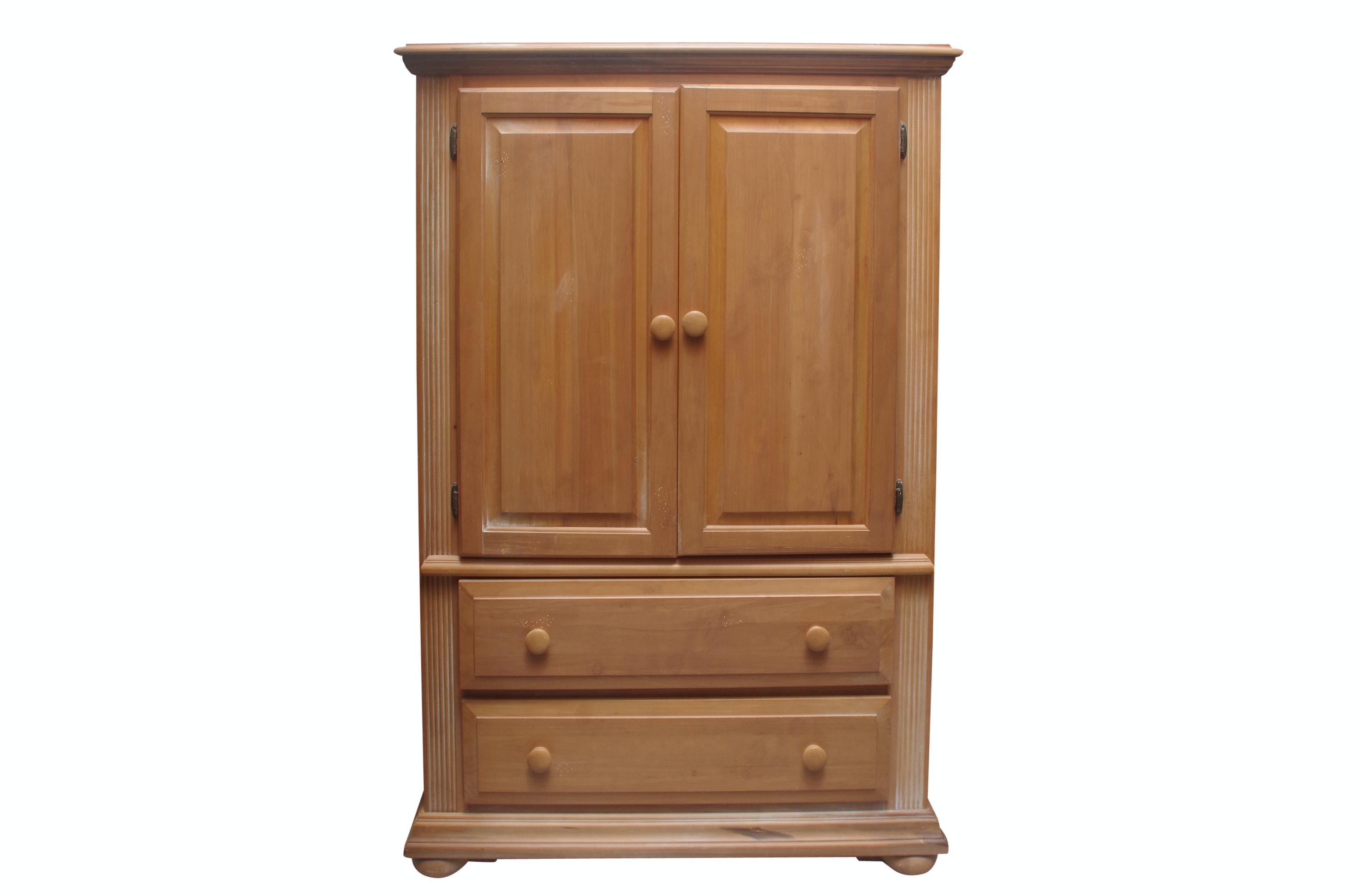 Wood Storage Cabinet
