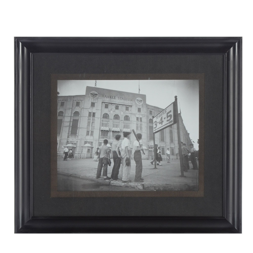 Yankee Stadium Framed Photo Print