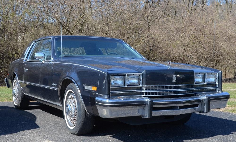 1985 Dark Grey Oldsmobile Toronado