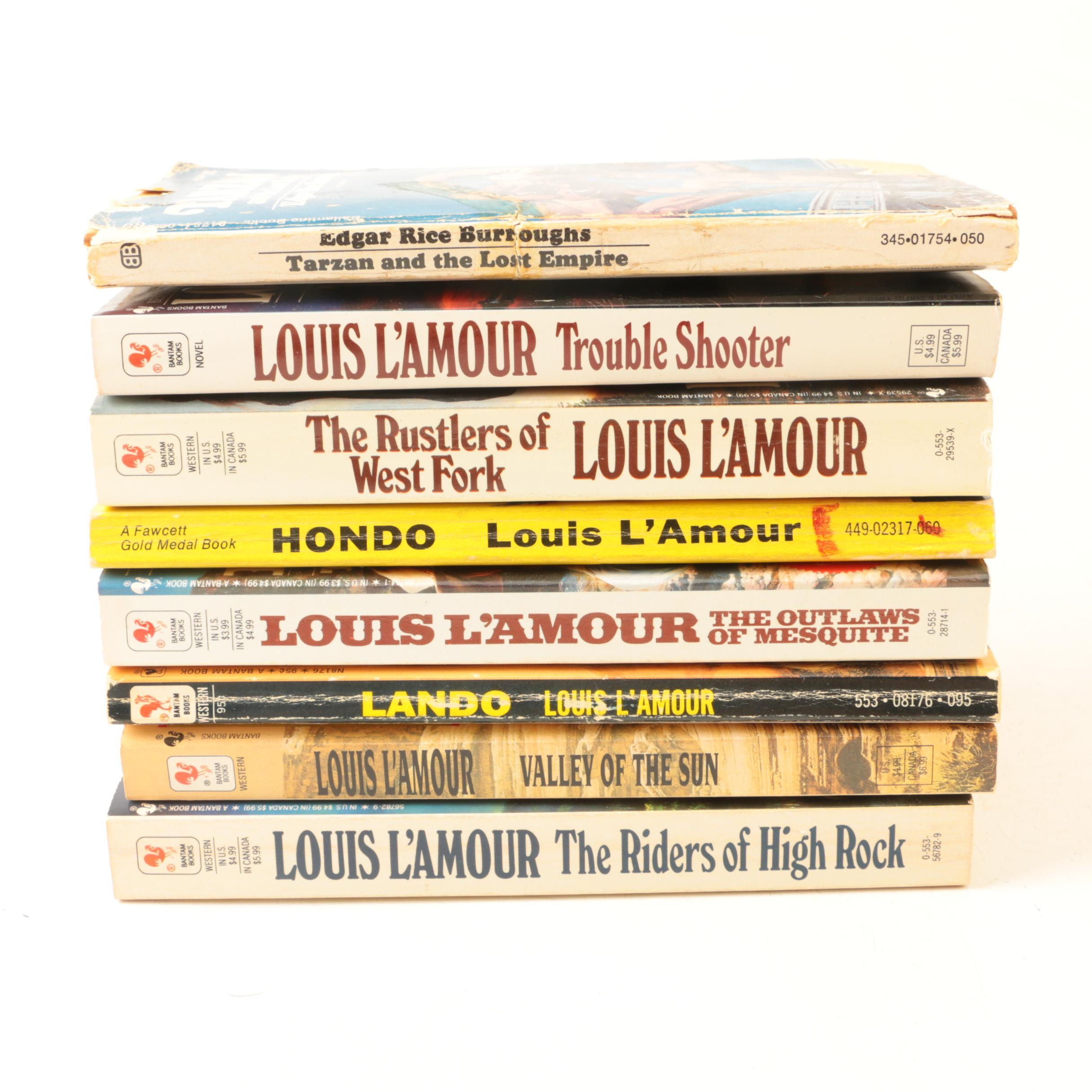 "1953 ""Hondo"" by Louis L'Amour and Other Books"