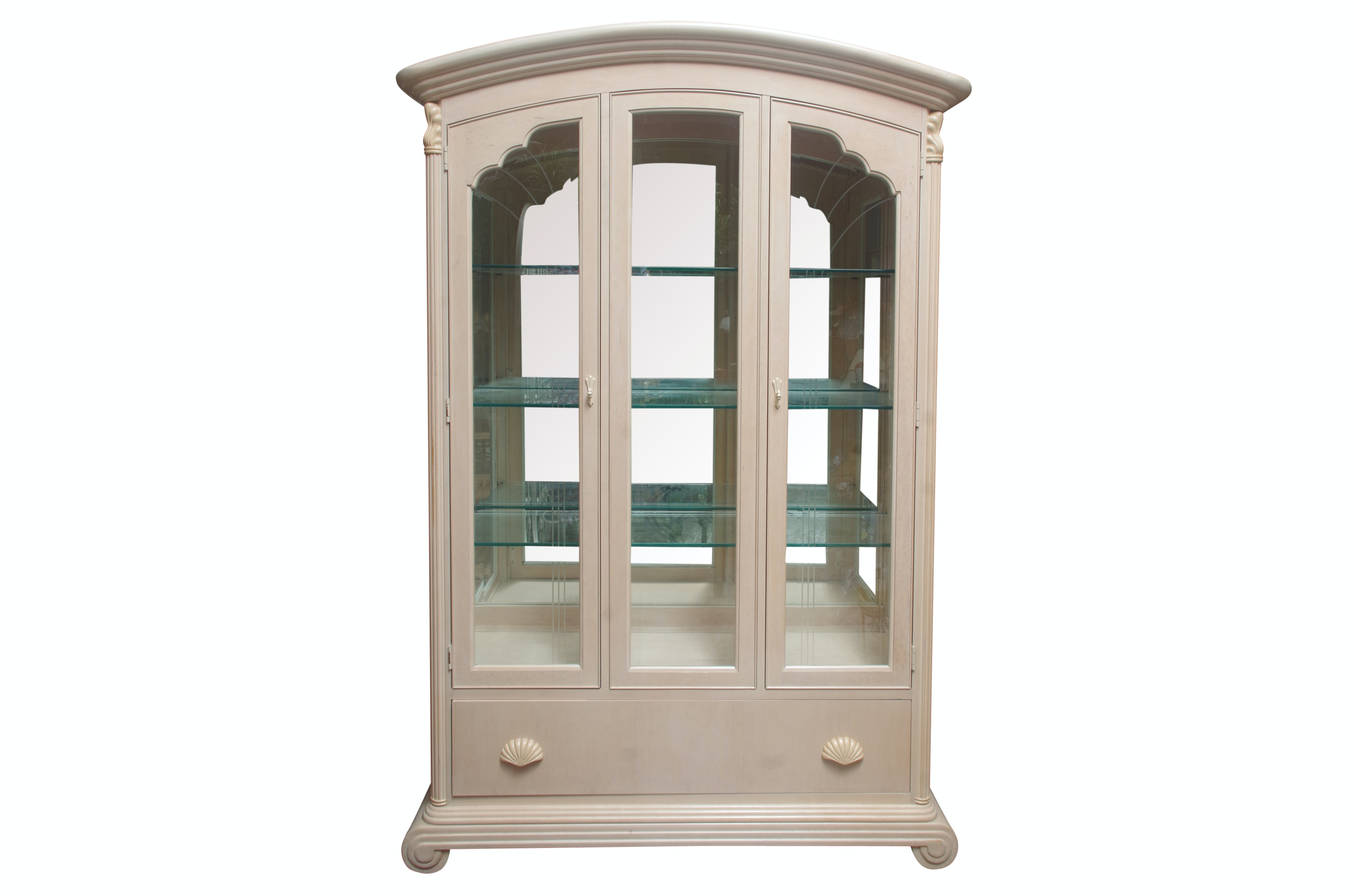 Vintage China Cabinet by National Mt. Airy Furniture