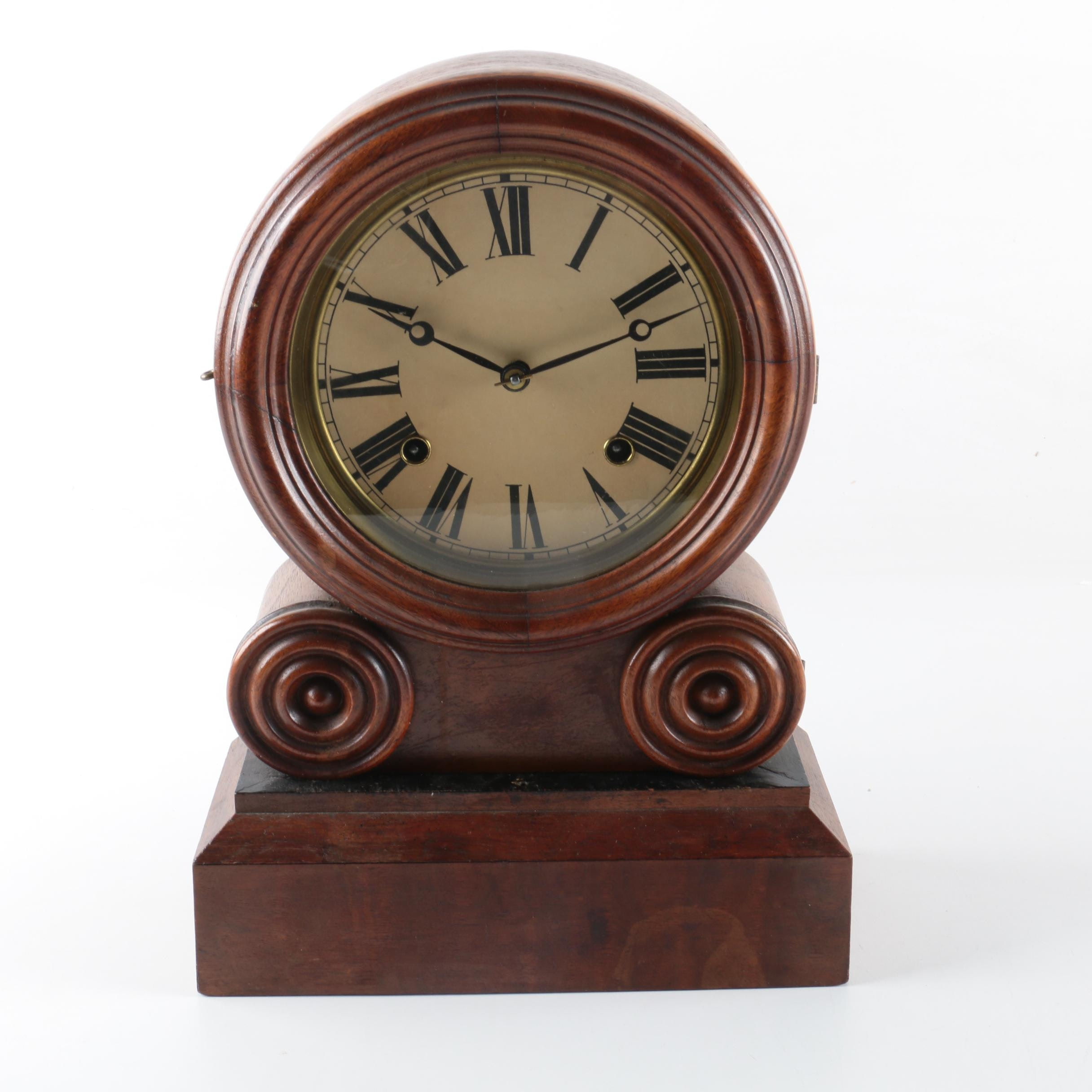 Vintage chiming mantel clocks