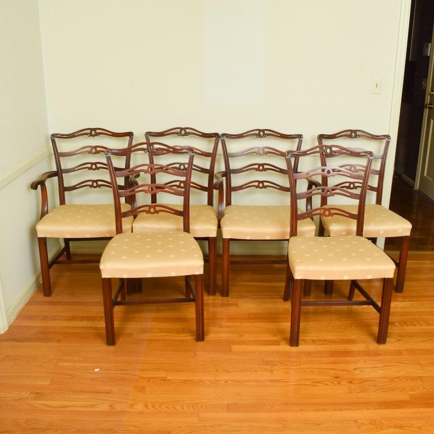 Marvelous Chippendale Style Ribbon Back Dining Chairs Short Links Chair Design For Home Short Linksinfo