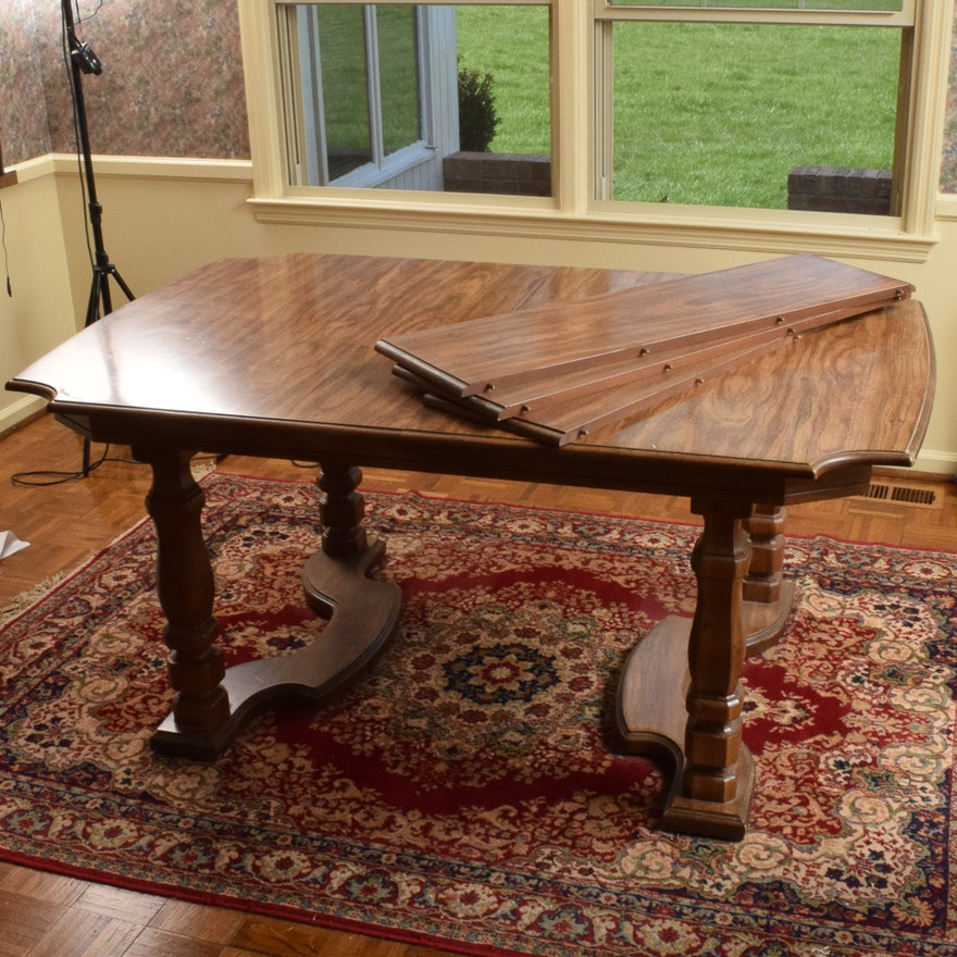Pecan Wood Furniture Dining Room: Pecan Wood Dining Table