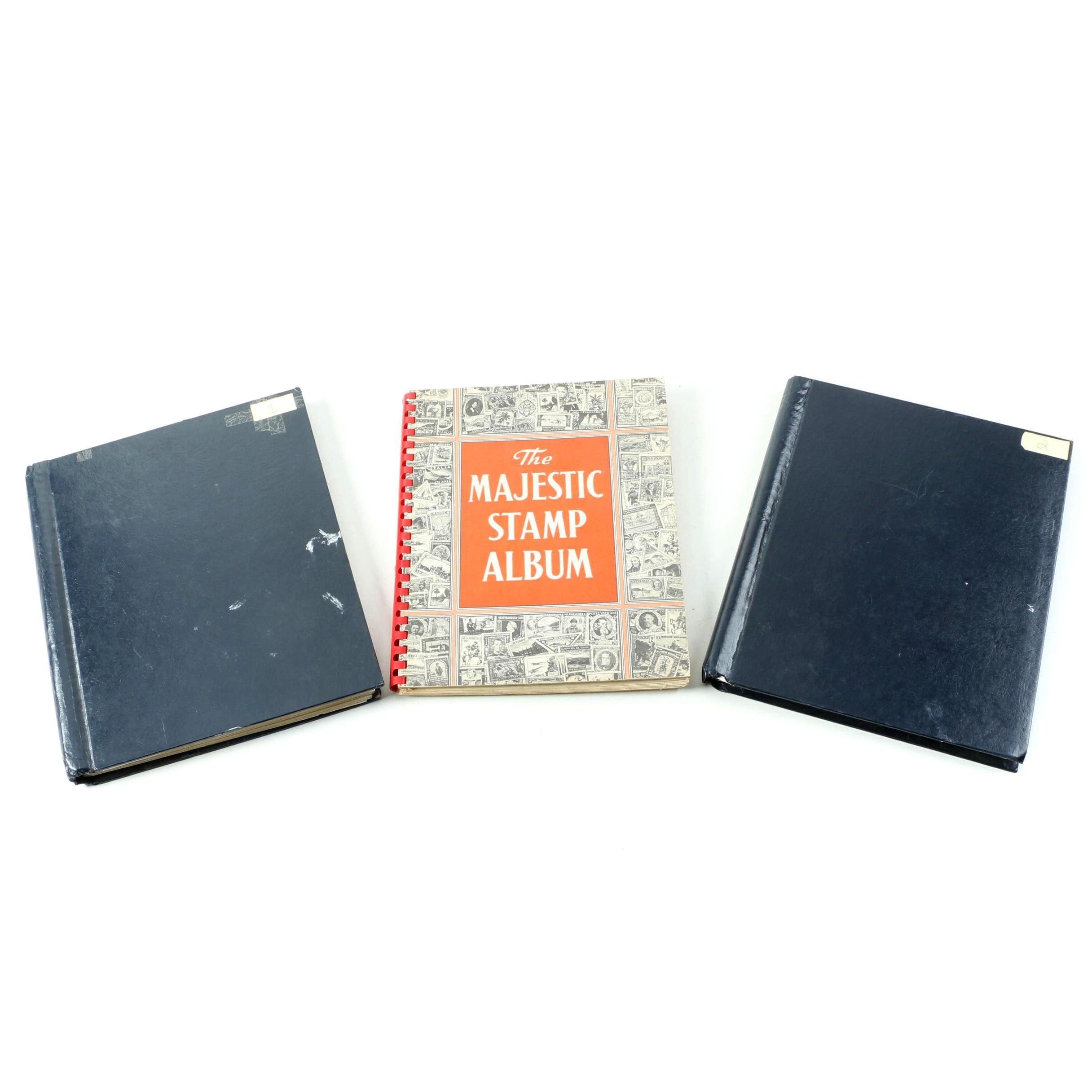 Postage Stamp Albums
