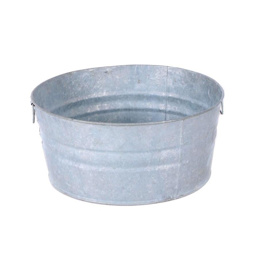 Galvanized Metal Utility Tub Ebth