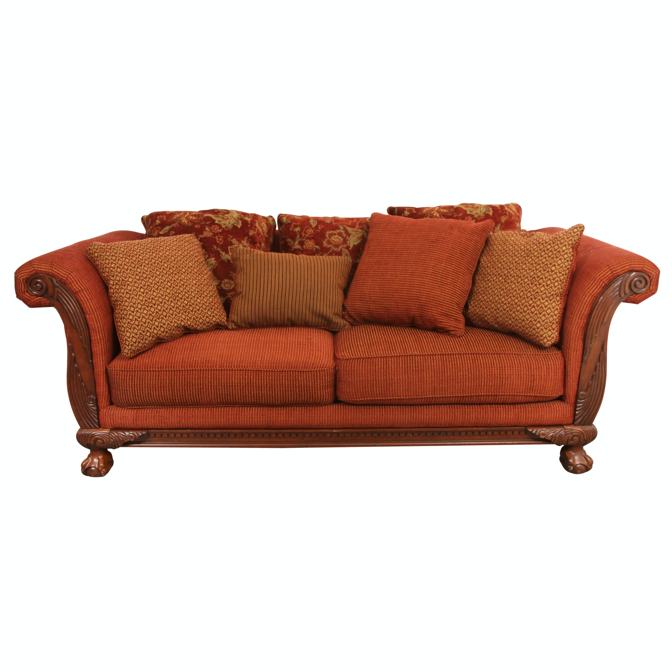 Charming Chippendale Sofa By Sofa Express ...