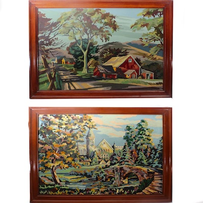 Fine Art Painting Auctions Vintage Paintings For Sale