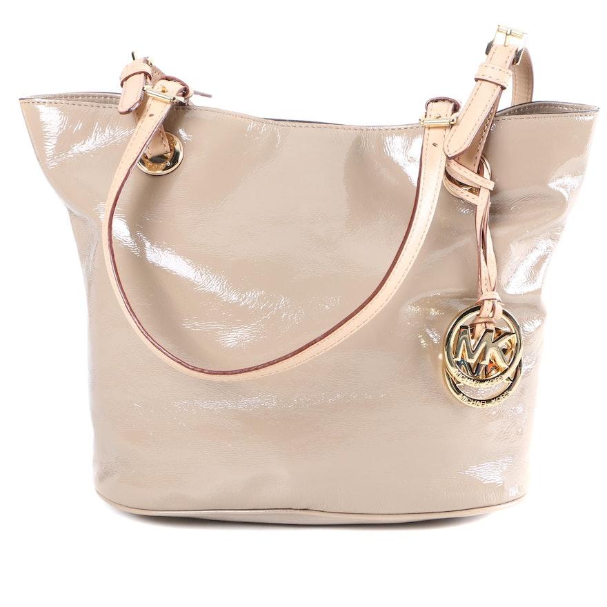 97136472d4d5 MICHAEL Michael Kors Patent Leather Tote Bag : EBTH