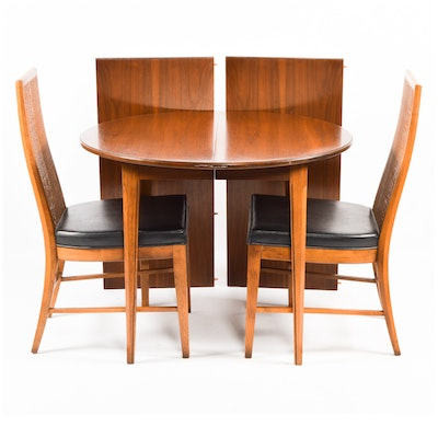antique dining table. Mid Century Modern  Paragon by Drexel Dining Table Vintage Furniture Auction Antique for